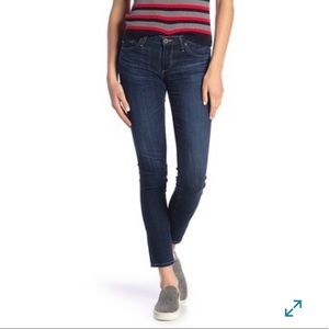 AG the stilt cigarette leg mid rise skinny jean